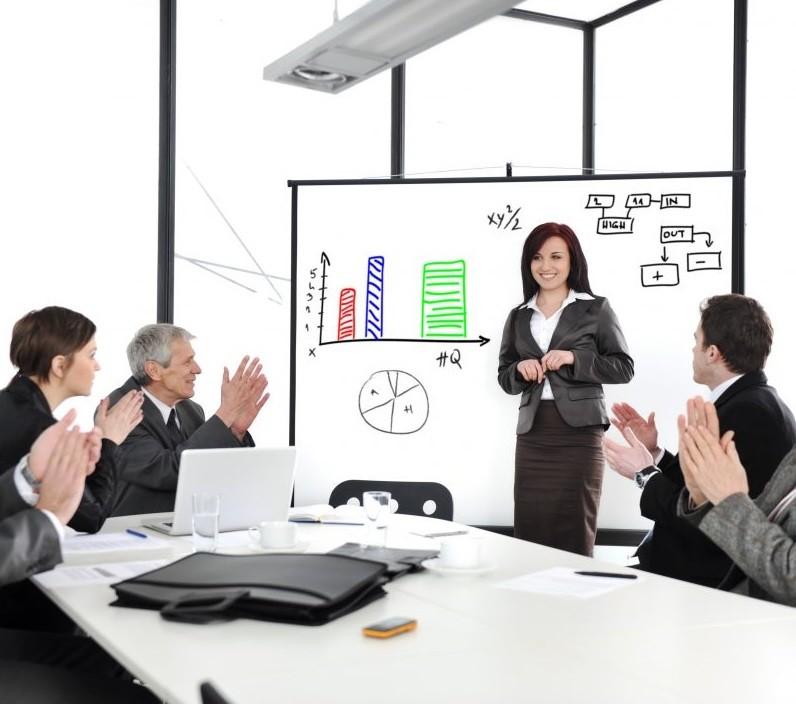 Проведение презентации