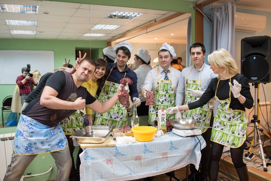 """""""Кулинарный тимбилдинг"""" рекомендует компания Энергопром Инжиниринг"""