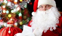 Подарок от Деда Мороза — шарж за 40 секунд!