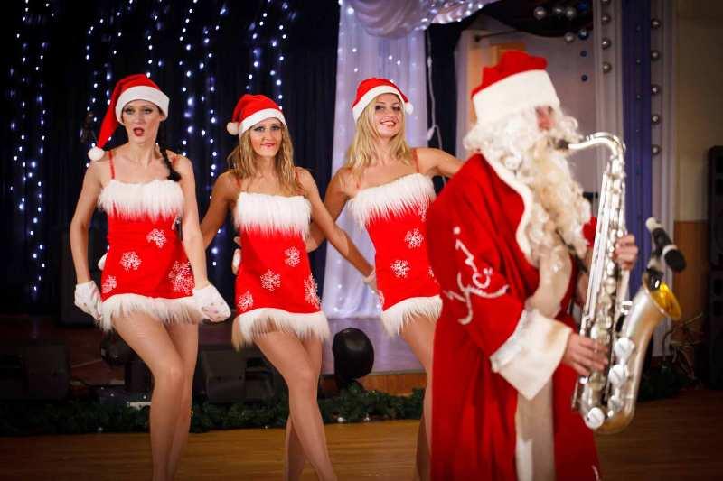 Подарок от Деда Мороза - шарж за 40 секунд!